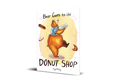 Bear Goes to the Donut Shop [hardcover]