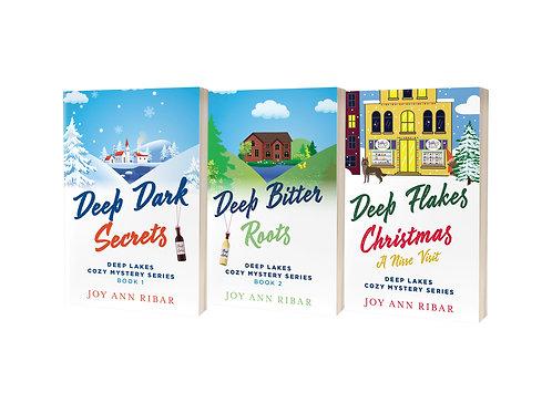 Deep Lakes Cozy Mystery Series - 3 book bundle!