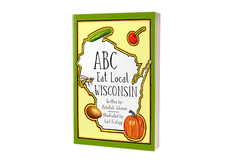 ABC Eat Local Wisconsin [hardcover]