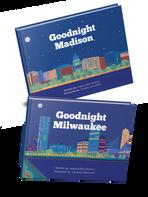 Goodnight Madison & Goodnight Milwaukee