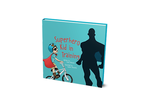 Superhero Kid in Training - PAPERBACK