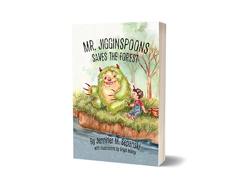 Mr. Jigginspoons Saves the Forest - Hardcover