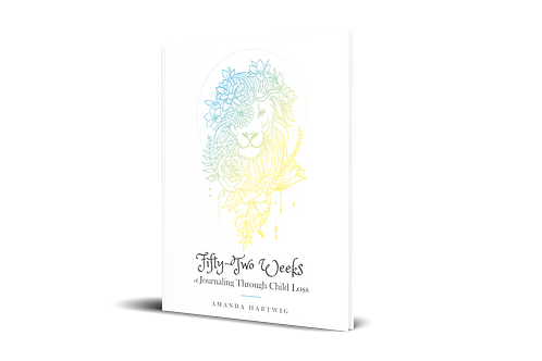 Fifty-Two Weeks of Journaling Through Child Loss [paperback]