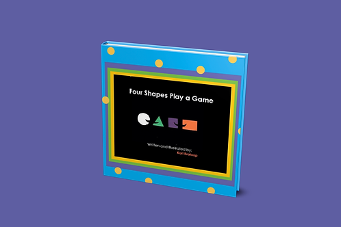 Four Shapes Play a Game [paperback]