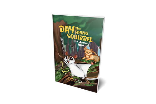 Day the Flying Squirrel: The Journey Home [hardcover]