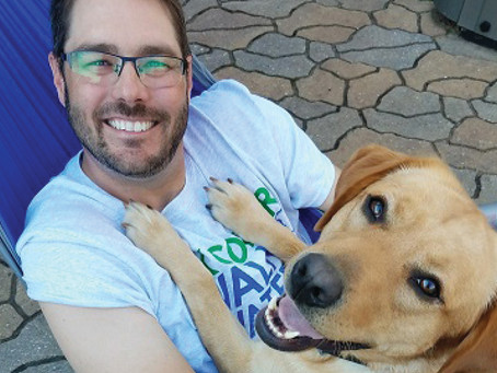 Author and Pastor, Jared Parmley, Raises Awareness About Therapy Animals