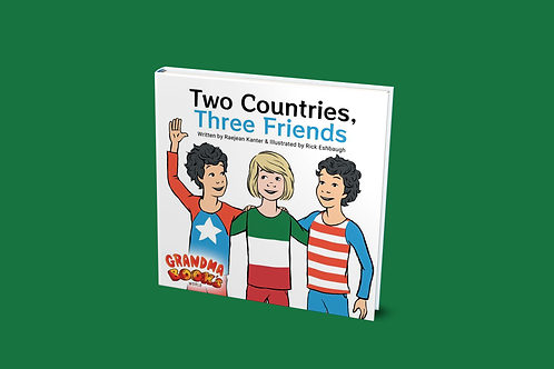 Two Countries, Three Friends [paperback]