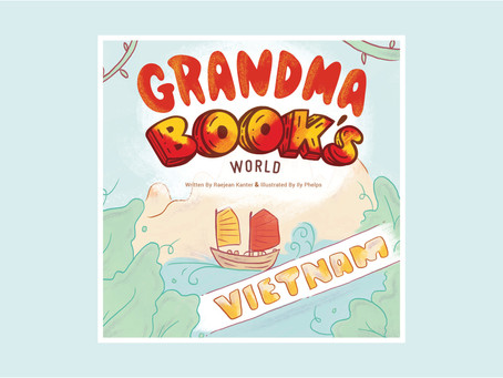 Grandma Book Series Teaches Kids About Cultural Awareness and Compassion