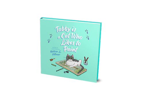 Tabby is a Cat Who Likes to Paint [paperback]
