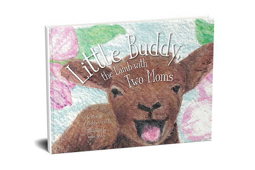 Little Buddy, the Lamb with Two Moms - PAPERBACK