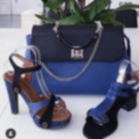 catalogue 2019 - sacs galibelle  medium bleu  rabat noir