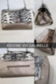 catalogue 2019 - sacs galibelle  medium argent  rabat zebre