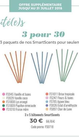 Promotions partylite|Smartcents et SmartBlends à petits prix