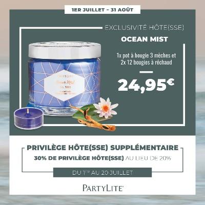 Bougie parfumée - Fragrances - Décor Partylite  Belgique