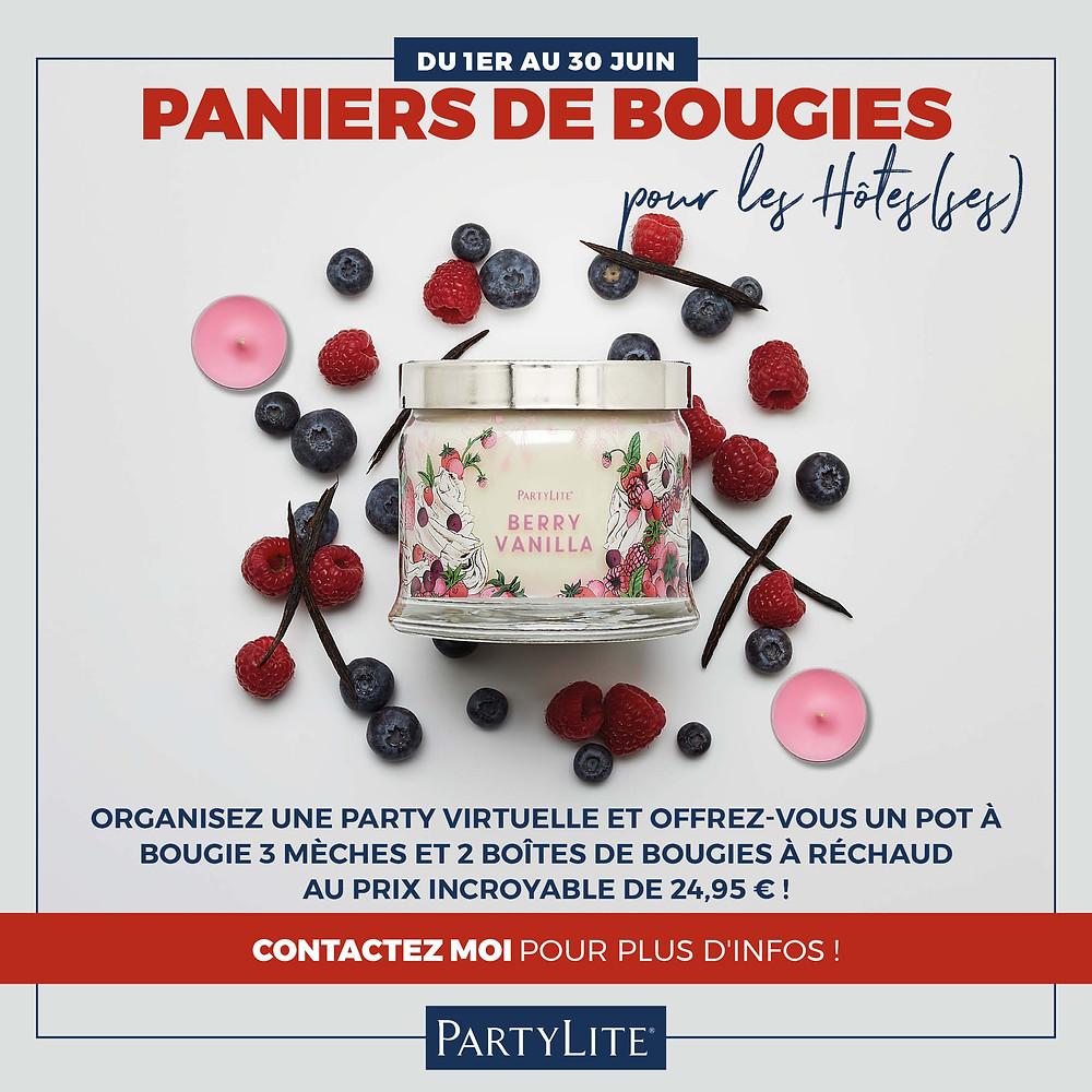 Partylite Belgique Offre hotesse