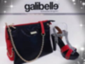 galibelle iris double sac a main femmes