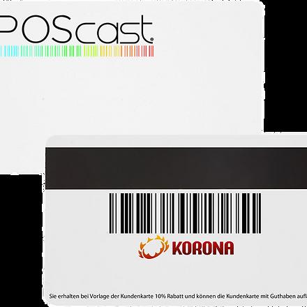 poscast card