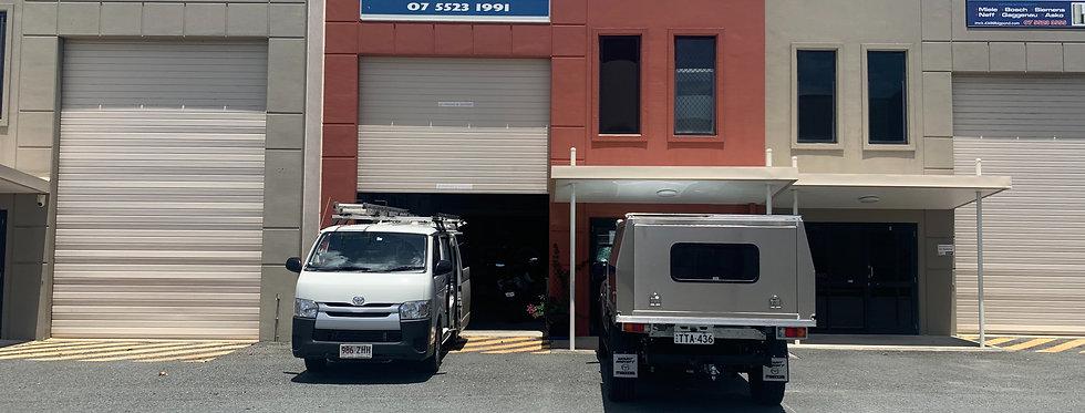 Modern high clearance tilt slab warehouse
