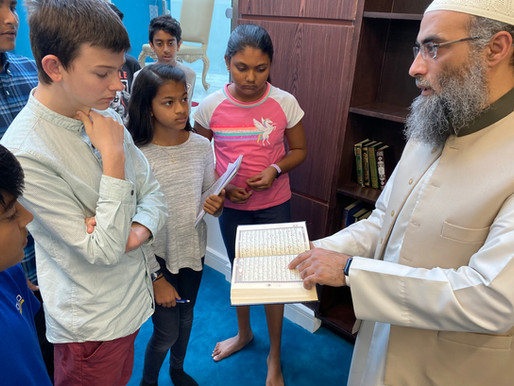 Our Visit To a Mosque