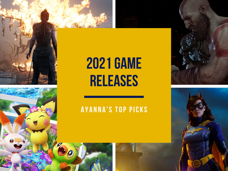 Ayanna's Top Picks: 2021 Video Game Releases