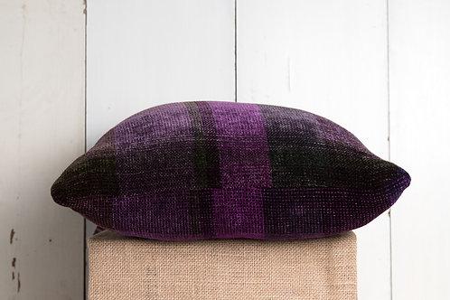 Purple Stripe Pillow