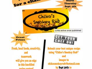 Chiko's Smokey Rub Recipe Competition