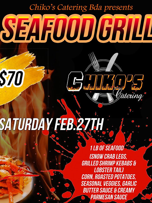 Chiko's Catering Bda (Seafood Grill)
