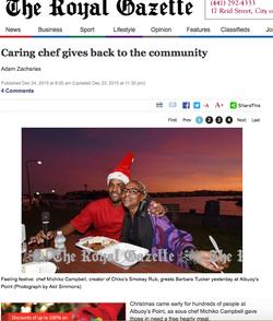 The Royal Gazette Dec 2015