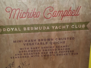 Chef Chiko represents Bermuda at The Charleston Wine & Food festival in South Carolina March 8th