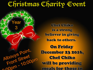 Chiko's Smokey Rub 3rd Annual Christmas Charity Event