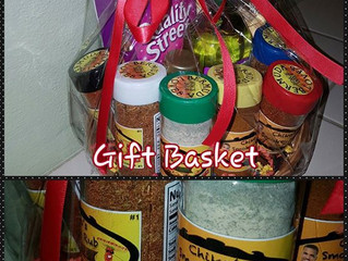 Chiko's Smokey Rub Gift Baskets now Available to order.