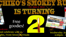 Chiko's Smokey Rub is turning 2 !