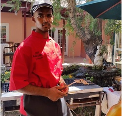 Chef Chiko at Four Ways Inn Restaurant, Bermuda