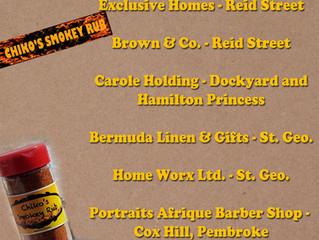 Where can I buy Chiko's Smokey Rubs in Bermuda?