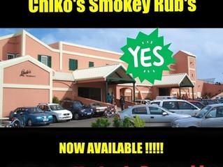 Chiko's Smokey Rub's have landed in Lindos in Devonshire