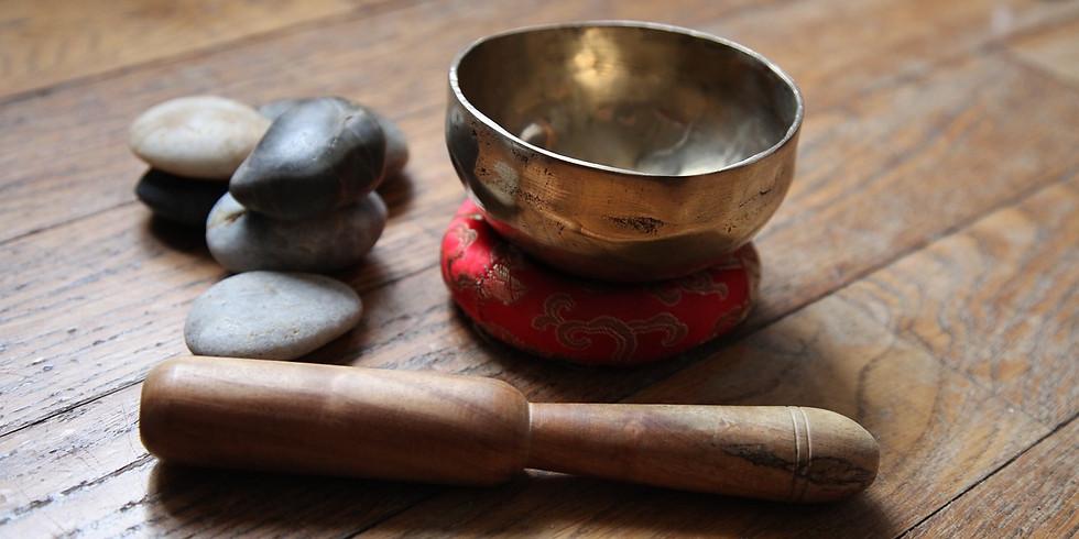 Massage sonore aux bols chantants
