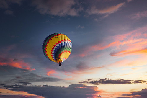 Séance Sophro  - Voyage en montgolfière