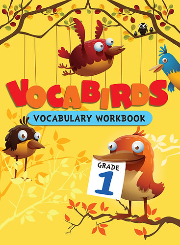 Vocabirds Vocabulary Work book -1