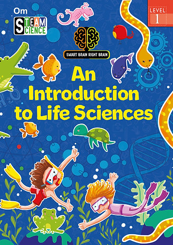 Smart Brain Right Brain: Science Level 1 An Introduction To Life Sciences