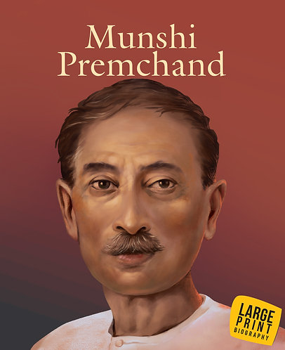 Munshi Premchand : Large Print