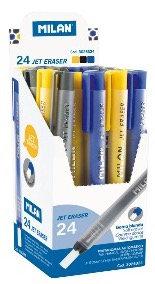 Jet Eraser, mechanical eraser holder with soft eraser - Assorted - 1Pc
