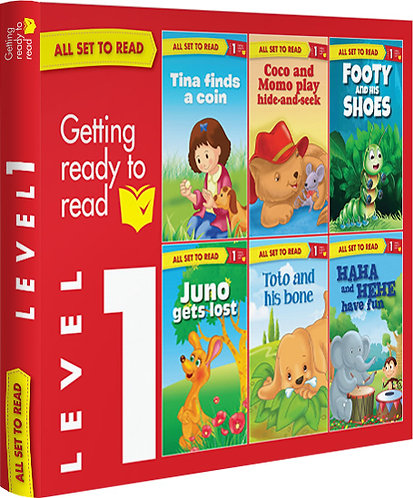 All Set TO Read Readers Level- 1 Box