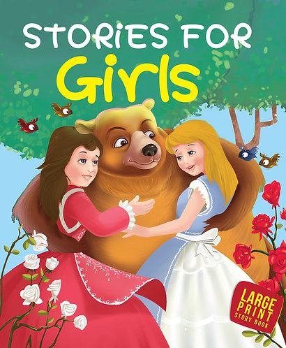 Stories For Girls : Large Print