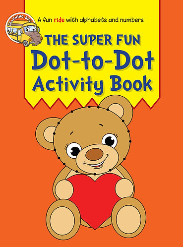 THE SUPER FUN Dot-to-Dot Activity Book (Binder)