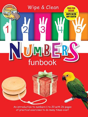 Numbers Funbook Wipe & Clean