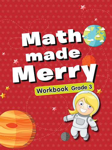 Maths Made Merry Workbook Grade -3