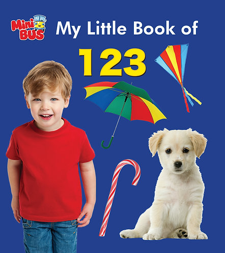 My Little Book of 123