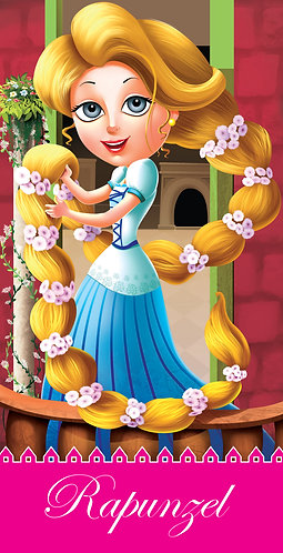Rapunzel : Cutout Story Book