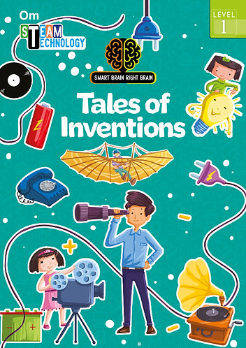 Smart Brain Right Brain: Science Level 1 Tales of Invention