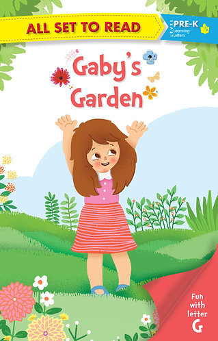 All set to Read fun with latter G Gaby's Garden